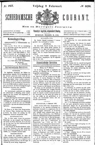 Schiedamsche Courant 1877-02-09