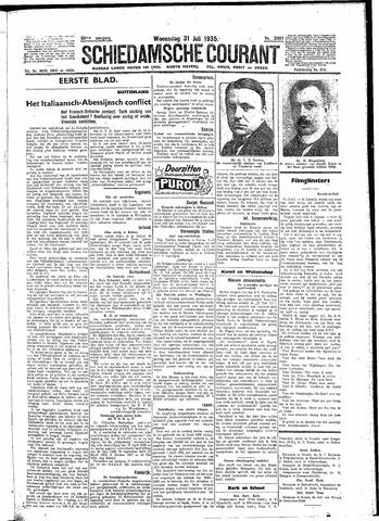Schiedamsche Courant 1935-07-31