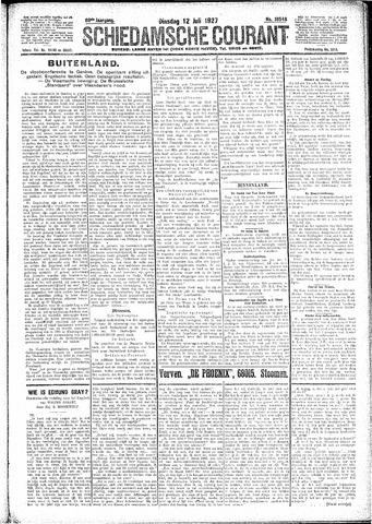Schiedamsche Courant 1927-07-12