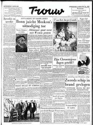 Trouw / De Rotterdammer 1955-06-09