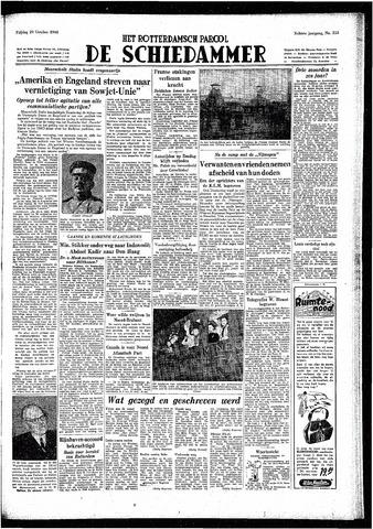 Rotterdamsch Parool / De Schiedammer 1948-10-29