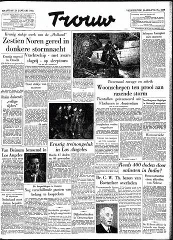Trouw / De Rotterdammer 1956-01-23