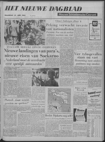 Nieuwe Schiedamsche Courant 1962-06-25