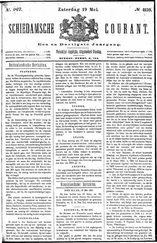 Schiedamsche Courant 1877-05-19