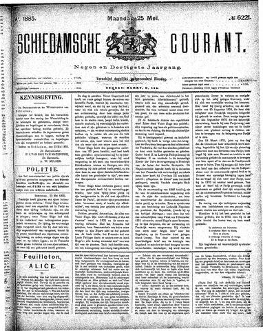 Schiedamsche Courant 1885-05-25