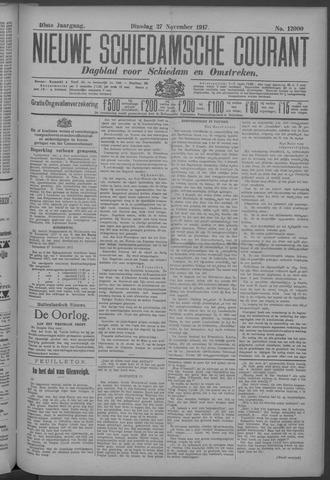 Nieuwe Schiedamsche Courant 1917-11-27