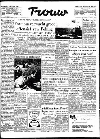 Trouw / De Rotterdammer 1958-10-07