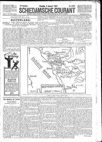 Schiedamsche Courant 1927-01-04