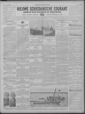 Nieuwe Schiedamsche Courant 1933-02-15