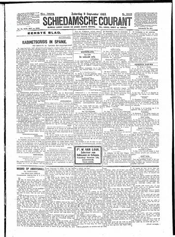 Schiedamsche Courant 1933-09-09