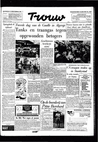 Trouw / De Rotterdammer 1960-12-10