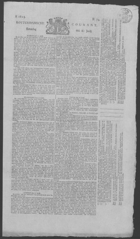 Rotterdamse Courant 1823-06-21