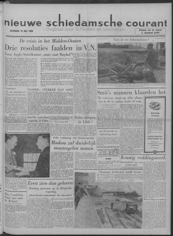 Nieuwe Schiedamsche Courant 1958-07-19