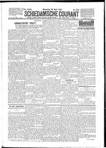 Schiedamsche Courant 1933-04-26