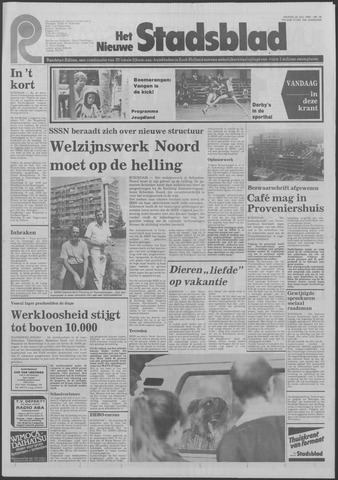 Het Nieuwe Stadsblad 1983-07-22