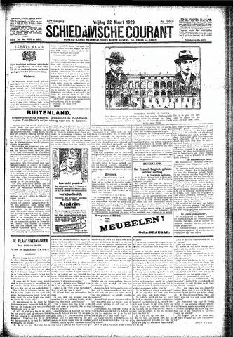 Schiedamsche Courant 1929-03-22