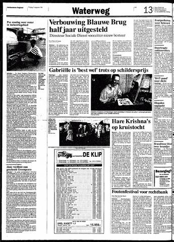 Rotterdamsch Nieuwsblad / Schiedamsche Courant / Rotterdams Dagblad / Waterweg / Algemeen Dagblad 1991-08-02
