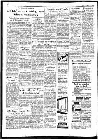 Rotterdamsch Parool / De Schiedammer 1955-02-11