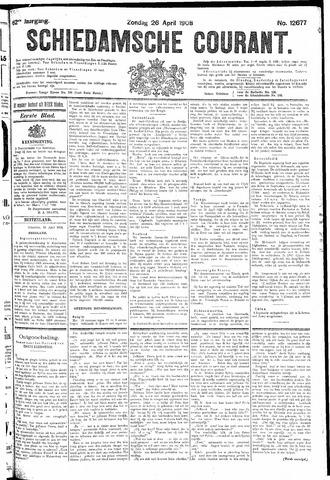 Schiedamsche Courant 1908-04-26