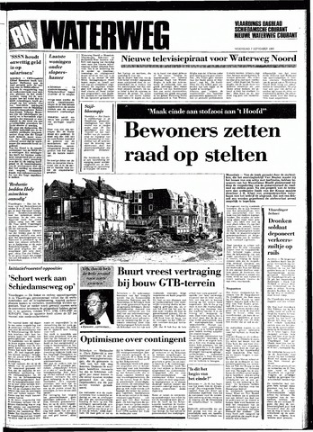 Rotterdamsch Nieuwsblad / Schiedamsche Courant / Rotterdams Dagblad / Waterweg / Algemeen Dagblad 1983-09-07