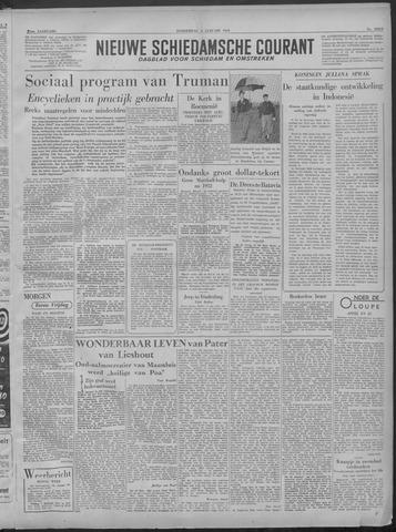 Nieuwe Schiedamsche Courant 1949-01-06
