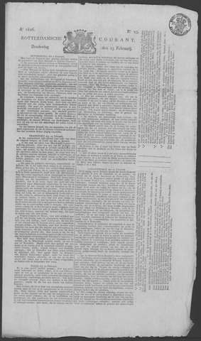 Rotterdamse Courant 1826-02-23
