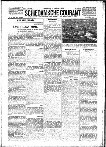 Schiedamsche Courant 1935-01-03