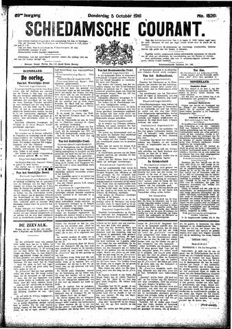 Schiedamsche Courant 1916-10-05