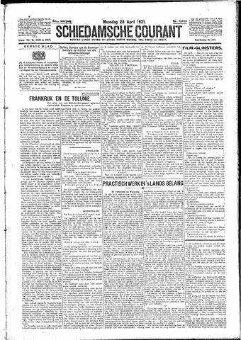 Schiedamsche Courant 1931-04-20