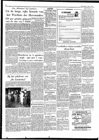 Rotterdamsch Parool / De Schiedammer 1955-06-09