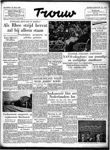 Trouw / De Rotterdammer 1953-07-20
