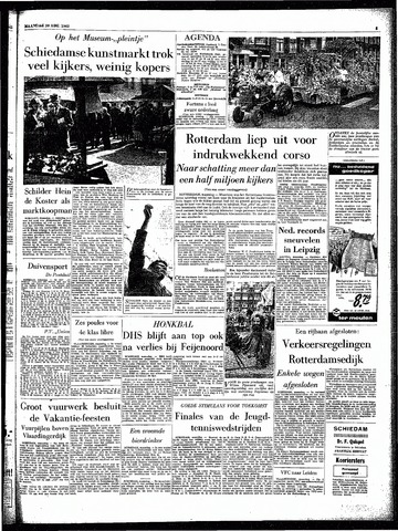 Rotterdamsch Parool / De Schiedammer 1962-08-20