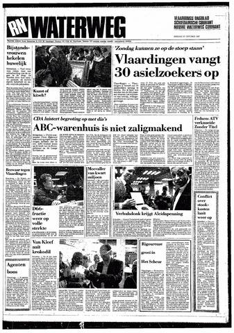 Rotterdamsch Nieuwsblad / Schiedamsche Courant / Rotterdams Dagblad / Waterweg / Algemeen Dagblad 1987-10-27