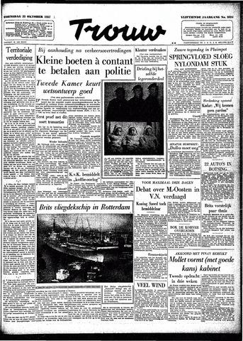 Trouw / De Rotterdammer 1957-10-23