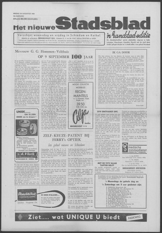 Het Nieuwe Stadsblad 1963-08-30
