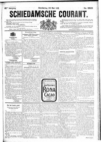 Schiedamsche Courant 1912-05-23