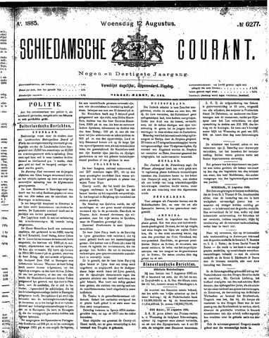 Schiedamsche Courant 1885-08-12