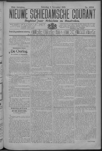 Nieuwe Schiedamsche Courant 1918-11-09