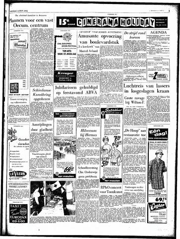 Rotterdamsch Parool / De Schiedammer 1962-11-16