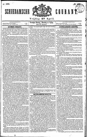 Schiedamsche Courant 1866-04-27