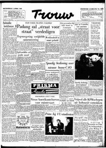 Trouw / De Rotterdammer 1958-04-03