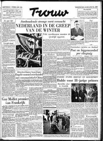 Trouw / De Rotterdammer 1956-02-01