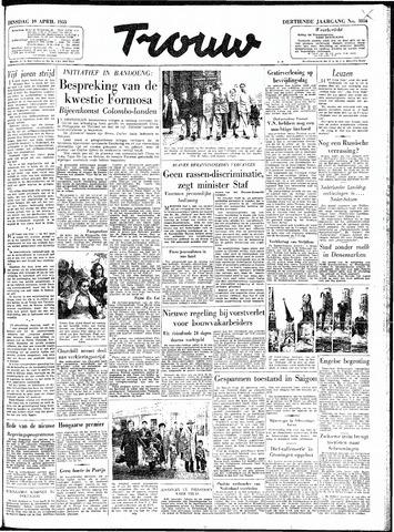 Trouw / De Rotterdammer 1955-04-19