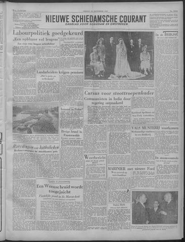 Nieuwe Schiedamsche Courant 1949-09-30