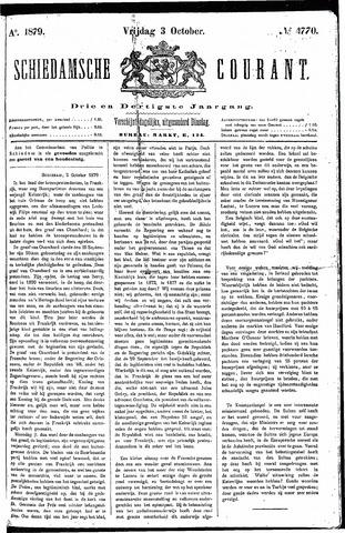 Schiedamsche Courant 1879-10-03