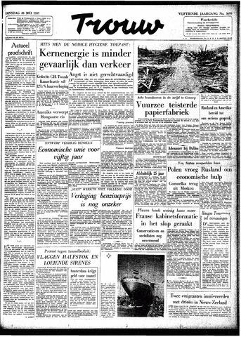 Trouw / De Rotterdammer 1957-05-28
