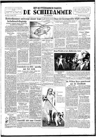Rotterdamsch Parool / De Schiedammer 1947-10-04