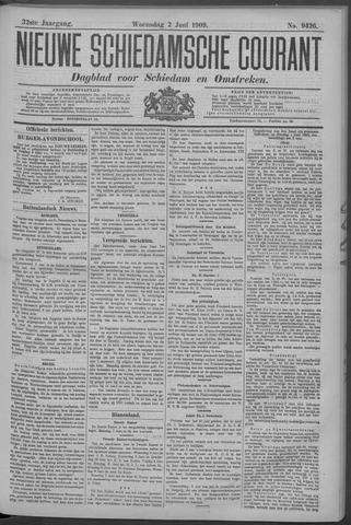 Nieuwe Schiedamsche Courant 1909-06-02