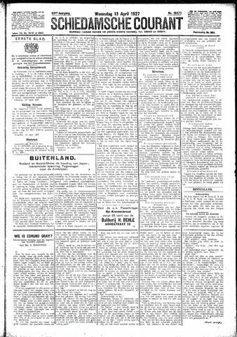 Schiedamsche Courant 1927-04-13