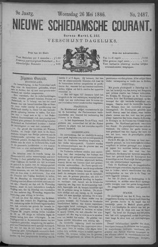 Nieuwe Schiedamsche Courant 1886-05-26